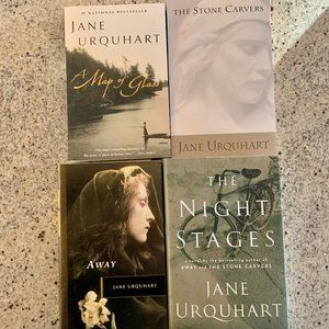 Four Jane Urquhart Books - 3 New & 1 Used